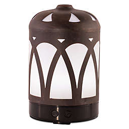 ScentSationals Cooper Small Lighted Ultrasonic Essential Oil Diffuser in Latte