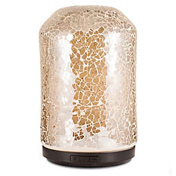 ScentSationals Mosaic Large Lighted Ultrasonic Essential Oil Diffuser in Amber