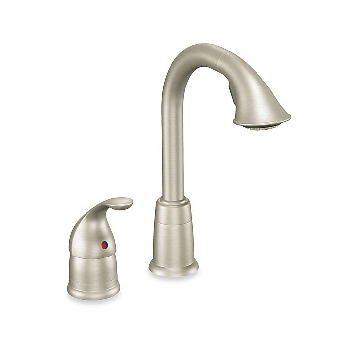 Moen® Camerist™ Pull Out Bar One-Handle Kitchen Faucet in ...