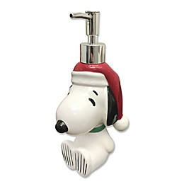 Peanuts Holiday Bathroom Lotion Dispenser Collection