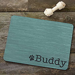 Pet Initials Meal Mat