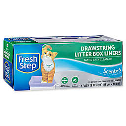Fresh Step™ 7-Count Drawstring Litter Box Liners