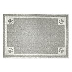 Fresh Kitty™ 30  x 24  Decorative Litter Trapper Mat in Grey