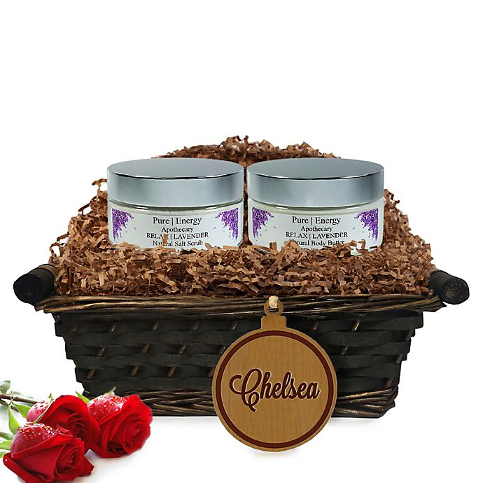 Alternate image 1 for Pure Energy Apothecary Supreme Sensation Lavender Name Gift Basket