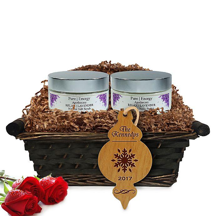 Alternate image 1 for Pure Energy Apothecary Supreme Sensation Lavender Christmas Gift Basket