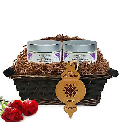 Pure Energy Apothecary Supreme Sensation Lavender Christmas Gift Basket
