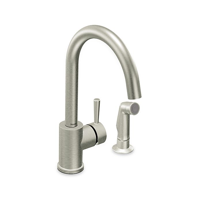 One Handle Kitchen Faucet With Side Spray Opendoor