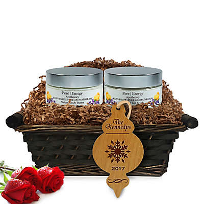 Pure Energy Apothecary Supreme Sensation Pure Aromatherapy Christmas Gift Basket