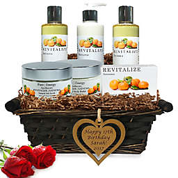 Pure Energy Apothecary Ultimate Body Satsuma Birthday Gift Set with Basket