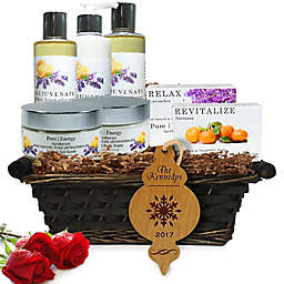 Pure Energy Apothecary Ultimate Body Pure Aroma Holiday Gift Set with Basket