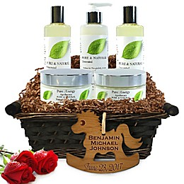 Pure Energy Apothecary Ultimate Body Pure Natural Gift Set for Baby with Basket