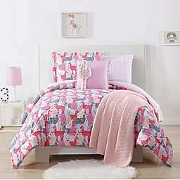 My World Llama Comforter Set