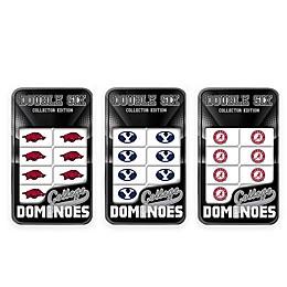 Collegiate Team Dominoes Collection