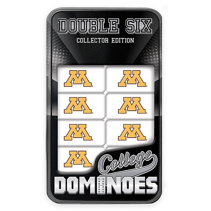 Alternate image 1 for University of Minnesota Team Dominoes