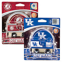 Collegiate Team Wooden Toy Train Collection