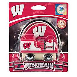 University of Wisconsin Team Wooden Toy Train