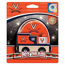 University of Virginia Team Wooden Toy Train