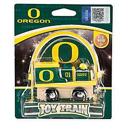 University of Oregon Team Wooden Toy Train