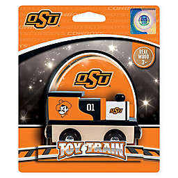 Oklahoma State University Team Wooden Toy Train