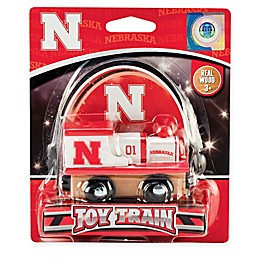 University of Nebraska Team Wooden Toy Train