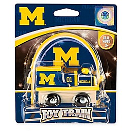 University of Michigan Team Wooden Toy Train