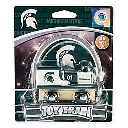 Michigan State University Team Wooden Toy Train