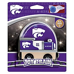 Kansas State University Team Wooden Toy Train