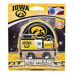 University of Iowa Team Wooden Toy Train
