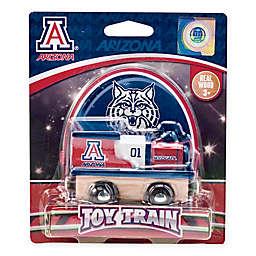 University of Arizona Team Wooden Toy Train
