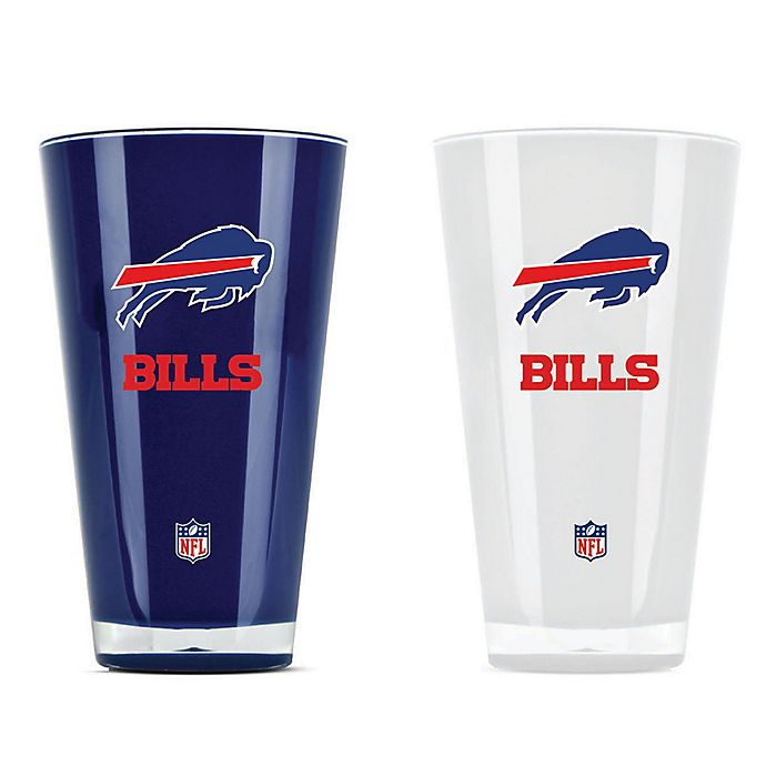 Alternate image 1 for NFL Buffalo Bills 20 oz. Insulated Tumblers (Set of 2)