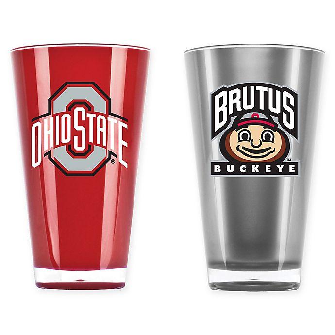 Alternate image 1 for Ohio State University 20 oz. Insulated Tumblers (Set of 2)