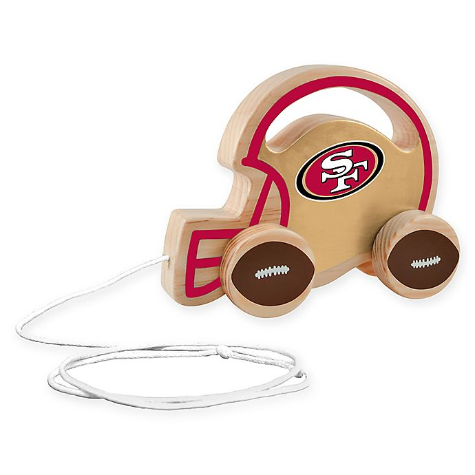 Alternate image 1 for NFL San Francisco 49ers Push/Pull Toy