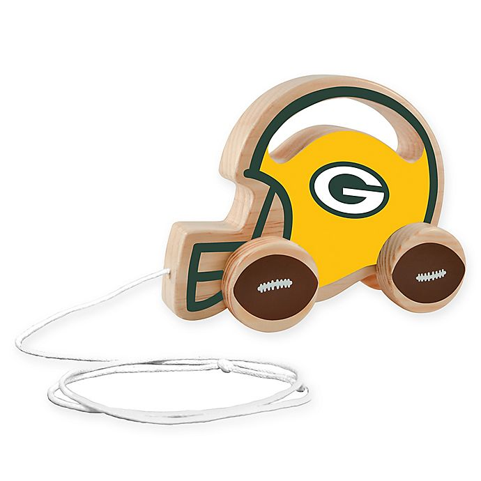 Alternate image 1 for NFL Green Bay Packers Push/Pull Toy
