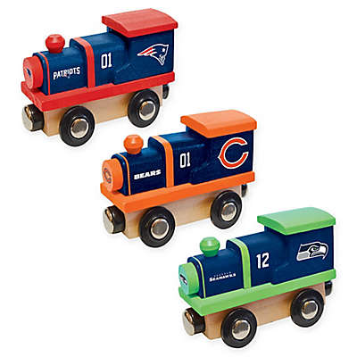 NFL Team Wooden Toy Train