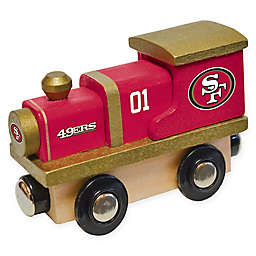 NFL San Francisco 49ers Team Wooden Toy Train