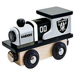 NFL Oakland Raiders Team Wooden Toy Train