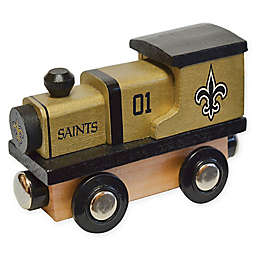 NFL New Orleans Saints Team Wooden Toy Train