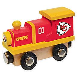 NFL Kansas City Chiefs Team Wooden Toy Train