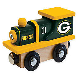 NFL Green Bay Packers Team Wooden Toy Train