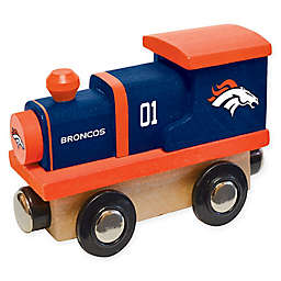 NFL Denver Broncos Team Wooden Toy Train
