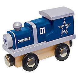 NFL Dallas Cowboys Team Wooden Toy Train