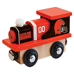 NFL Cleveland Browns Team Wooden Toy Train