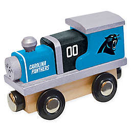NFL Carolina Panthers Team Wooden Toy Train
