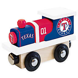 MLB Texas Rangers Team Wooden Toy Train