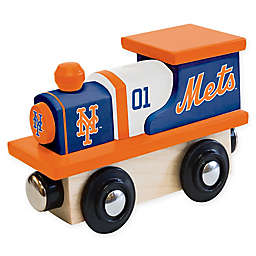 MLB New York Mets Team Wooden Toy Train