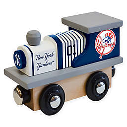 MLB New York Yankees Team Wooden Toy Train
