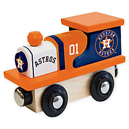 MLB Houston Astros Team Wooden Toy Train
