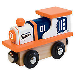 MLB Detroit Tigers Team Wooden Toy Train