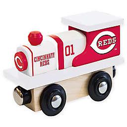 MLB Cincinnati Reds Team Wooden Toy Train