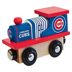 MLB Chicago Cubs Team Wooden Toy Train